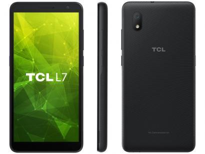 """Smartphone TCL L7 32GB Preto 4G Quad-Core - 2GB RAM Tela 5,5"""" Câm. 8MP + Selfie 5MP"""