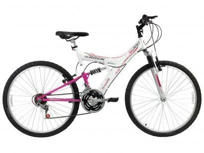 Bicicleta Track & Bikes TB-200/WP Aro 26 - 18 Marchas Suspensão Central...