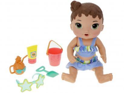 Boneca Baby Alive Bebê Sol e Areia com Acessórios - Hasbro