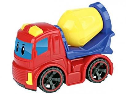 Caminhão de Brinquedo Coleção Construk Jr. - Roda Livre Xplast