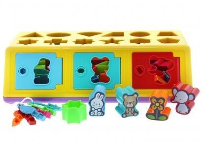 Caixa Encaixa 18 peças Estrela - 114025