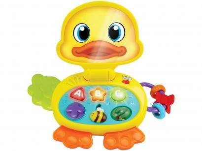 Laptop Infantil Winfun Baby Patinho - Emite Sons Yes Toys