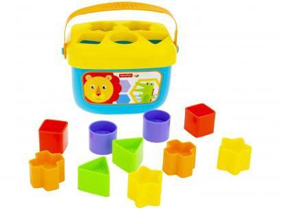 Balde Meus Primeiros Blocos Fisher-Price - Mattel