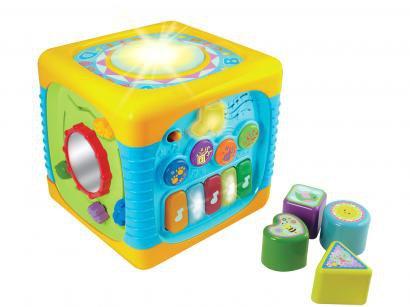 Cubo de Atividade Musical Yes Toys Winfun - 741