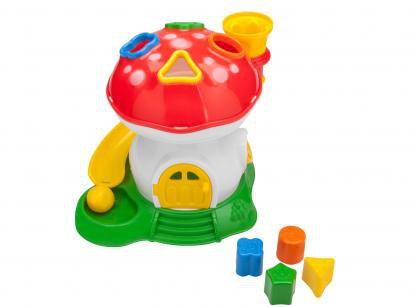 Cogumelo Didático Educativo com Acessórios - Samba Toys Tchuco Baby