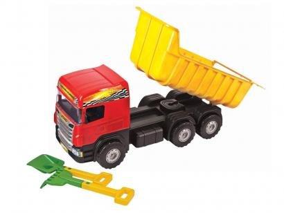 Caminhão Fricção - Super Caçamba - Magic Toys