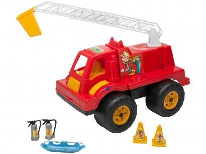 Mini Caminhão Infantil Tandy Bombeiro - Brinquedos Cardoso