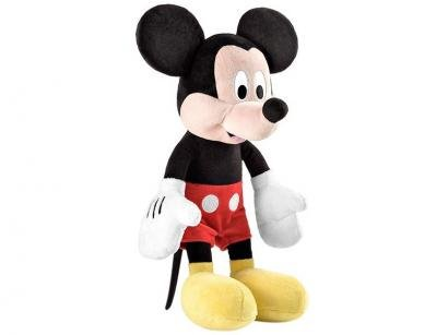Pelúcia Mickey Mouse 40cm Emite Sons - Multikids