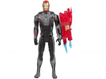 Boneco Homem de Ferro Titan Hero Series - Marvel Avengers 30cm com Acessórios Hasbro