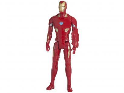Boneco Homem de Ferro Marvel Titan Hero 2.0 - Hasbro