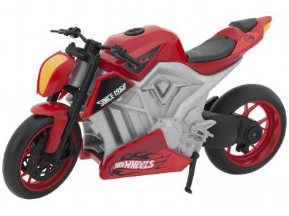 Moto de Brinquedo Hot Wheels Fire Road Roda Livre - Candide