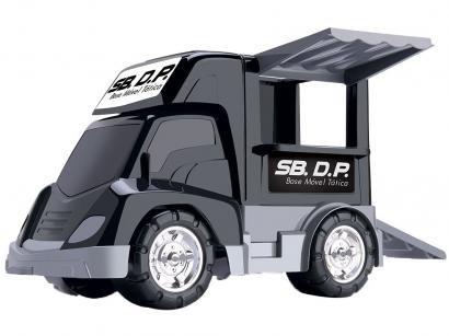 Caminhão de Brinquedo SB. DP. Samba Toys 4 Peças - com Acessórios