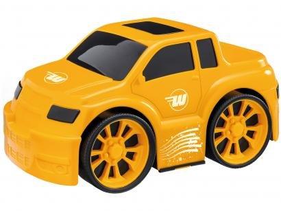Carrinho Wash Garage Pick-Up Usual Brinquedos - com Acessórios