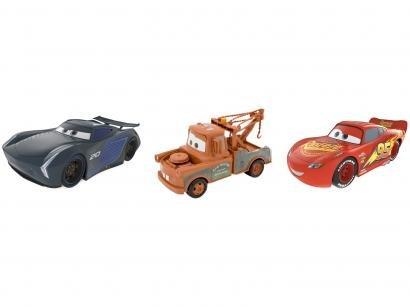 Carrinho Disney Carros Toyng - 3 Peças