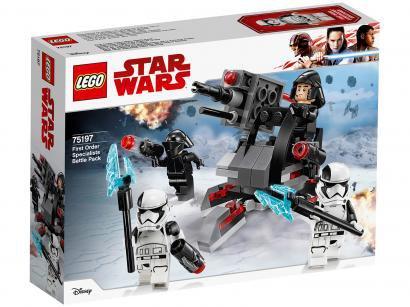 LEGO Star Wars Pack de Combate - Especialistas da Primeira Ordem 108 Peças 75197