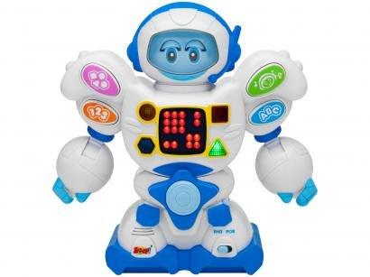 Robô com Movimento Amigo Robô Emite Som e Luz - Zoop Toys