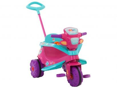Triciclo Infantil Velo Baby com Empurrador - Bandeirante