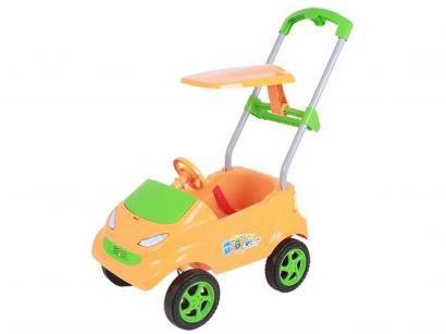 Carrinho de Passeio Infantil Baby Car - com Empurrador e Capota Xplast
