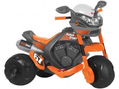 Mini Moto Elétrica Infantil Super Sport 2 Marchas - 6V Bandeirante
