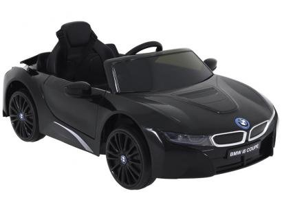 Carro Elétrico Infantil Preto Bel Fix BMW i8 Coupe - 12V com Controle Remoto