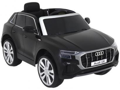 Carro Elétrico Infantil Preto Bel Fix Audi Q8 - 12V com Controle Remoto