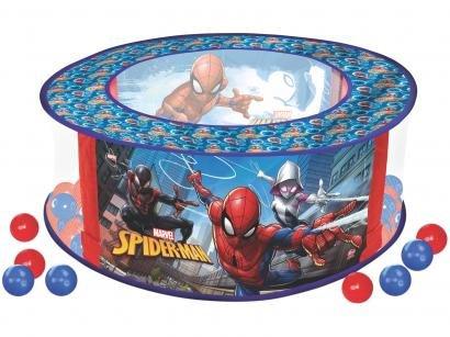 Piscina de Bolinhas Spiderman - Lider Brinquedos
