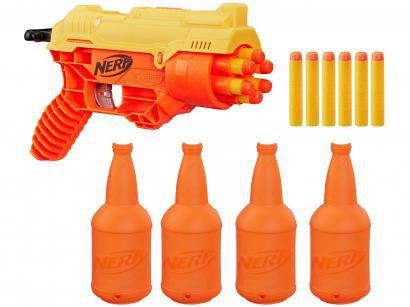 Nerf Alpha Strike Cobra com Target Hasbro - 12 Dardos com Acessórios