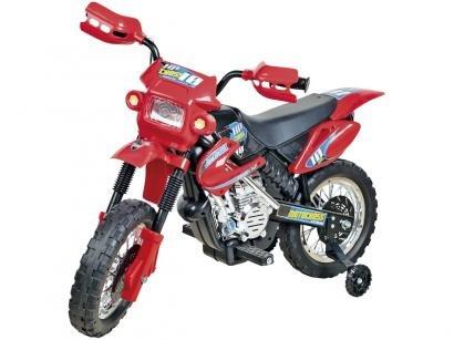 Mini Moto Elétrica Infantil Motocross 6V - Xplast