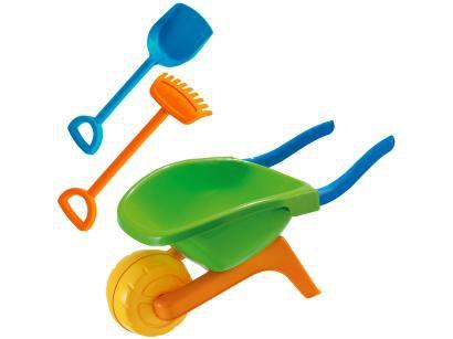 Carriola Infantil Beach Play 3 Peças - Usual Brinquedos