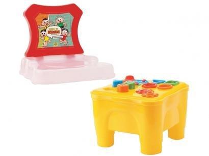 Brinquedo de Encaixar Turma da Mônica - Cadeirinha Didática Samba Toys 8 Peças
