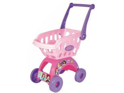 Carrinho de Supermercado de Brinquedo Princesas - Mimo Toys