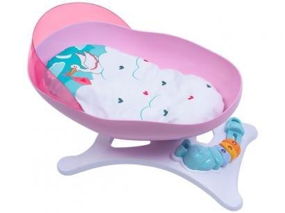 Berço de Brinquedo Cotiplás - Baby Ninos Balanço