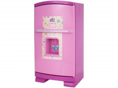 Geladeira de Brinquedo Sweet Fantasy - Sonho de Menina 13 Peças Cardoso Toys