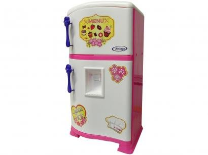 Geladeira de Brinquedo Pop Casa Flor Estilo - Xalingo