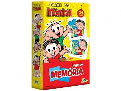 Jogo da Memória Jak Turma da Mônica Toyster - 48 Cartas