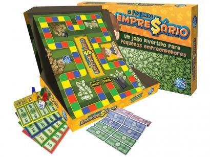 Jogo O Pequeno Empresário Tabuleiro - Pais e Filhos