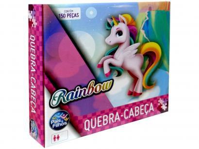 Quebra-cabeça 150 Peças Rainbow - Pais & Filhos