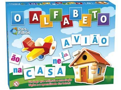 Jogo O Alfabeto Tabuleiro - Pais e Filhos