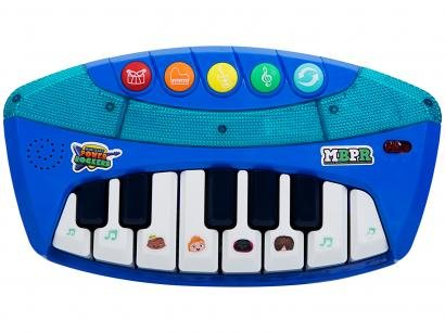 Teclado de Brinquedo Mini Beat F00056 - Power Rockers