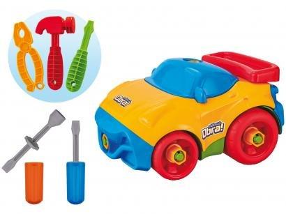 Carrinho Mãos à Obra Usual Brinquedos - com Acessórios