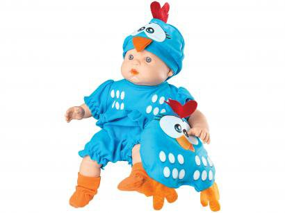 Boneca Galinha Pintadinha Baby com Acessórios - Roma