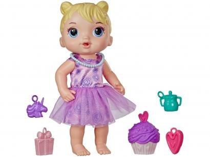 Boneca Baby Alive Bebê Festa de Presente - com Acessórios Hasbro