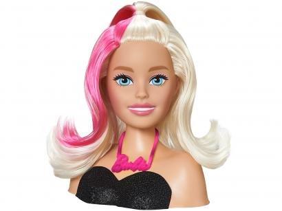 Boneca Barbie Styling Head Hair - com Acessórios Pupee