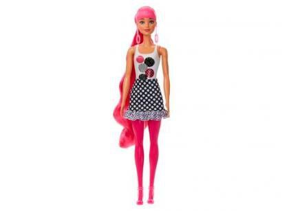 Boneca Barbie Fashionistas - Color Reveal Monocromática Mattel