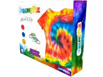Kit Tie Dye Infantil 3 Cores #euquefiz Tie Dye - i9 Brinquedos