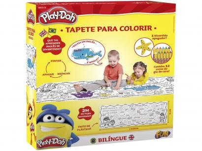 Tapete Educativo Portátil Play-Doh Bilíngue - Fun