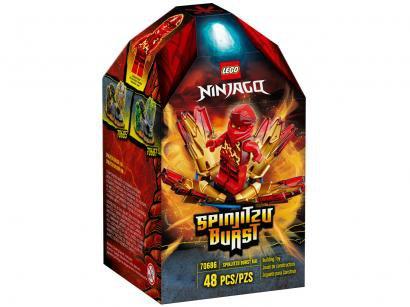 LEGO Ninjago Rajada de Spinjitzukai 48 Peças - 70686