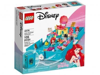 LEGO Disney Princess Aventuras do Livro da Ariel - 105 Peças 43176