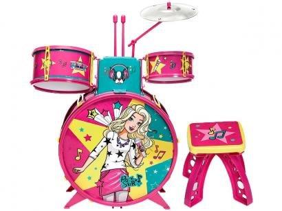 Bateria de Brinquedo Barbie Fabulosa - Fun