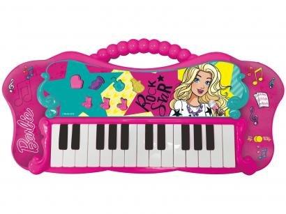 Teclado de Brinquedo Barbie Fabuloso - Fun